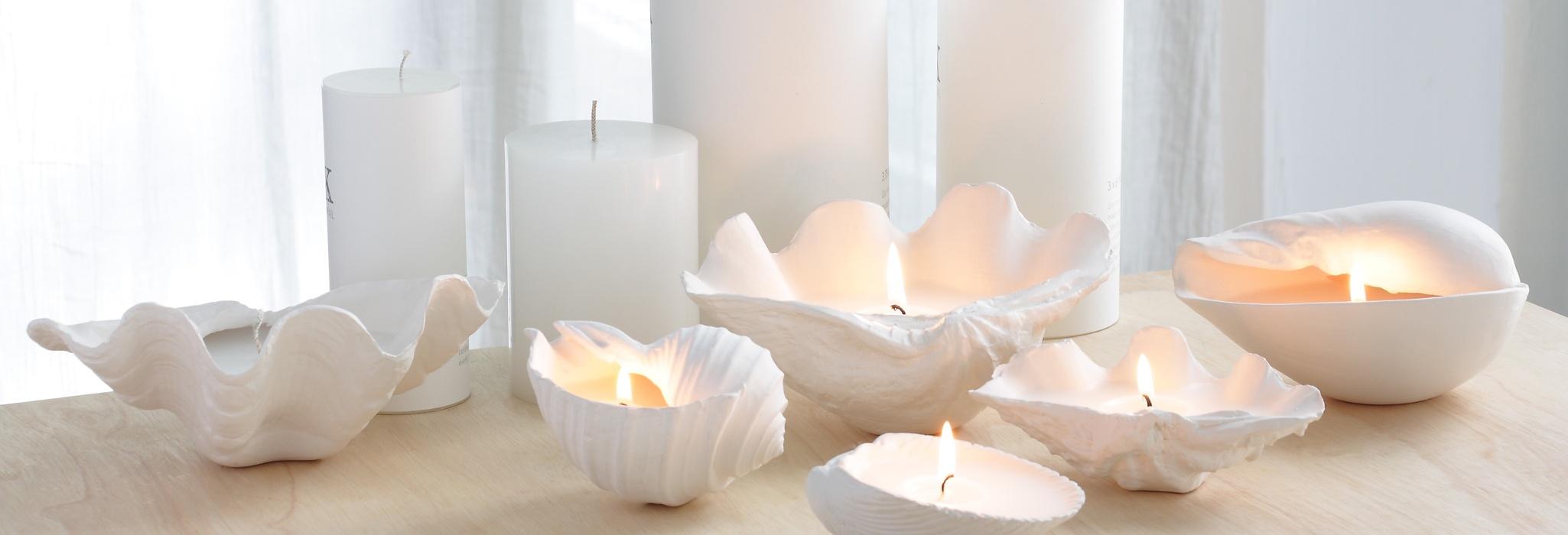 شمع استوانه قطر ٨ * ٥