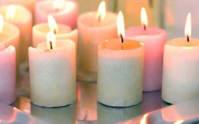 رازهای موجود در رنگ شمع