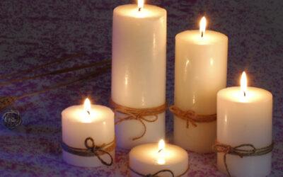 شمع استوانه